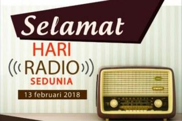 Selamat Hari Radio Sedunia