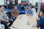 Diskominfo Bartim Kunjungi Media di Kalselteng