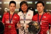 Minions Masuk Perempat Final Singapore Open 2019