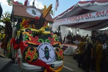 Festival Budaya Isen Mulang, Habiskan dana sebesar 1, 5 Milar Rupiah