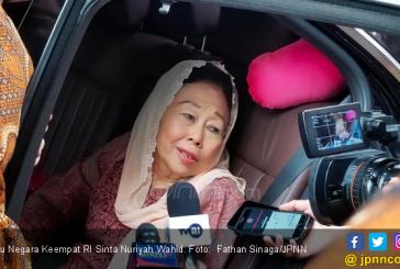 Sekotak Kurma dari BJ Habibie Buat Sinta Nuriyah