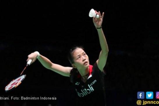 Fitriani Hanya Butuh 8 Menit Singkirkan Akane Yamaguchi di Korea Open 2019
