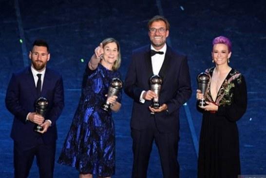 Sudah 6 Kali Lionel Messi Raih Gelar Pemain Terbaik Dunia FIFA