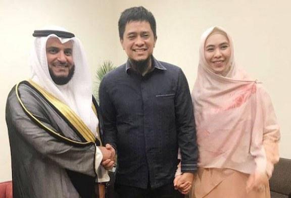 Oki Setiana Dewi Boyong Syaikh Mishary Rashid Alafasy ke Indonesia