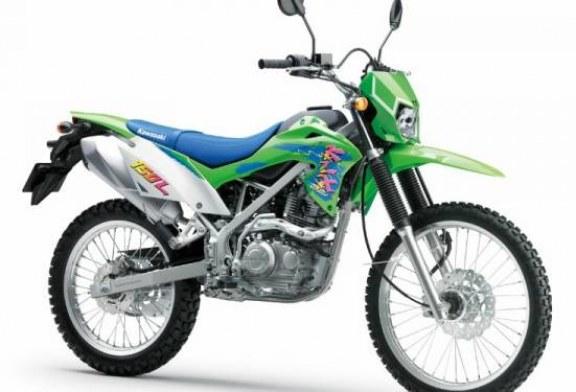 Di Luar Kebiasaan, Kawasaki KLX150L Hadir dengan Nuansa Retro