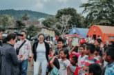 Nikita Mirzani Kunjungi Korban Gempa Ambon
