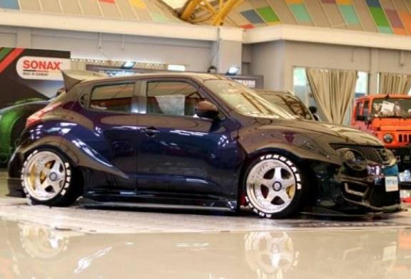 Nissan Juke Asal Bukittinggi Ini Sita Perhatian Juri MBtech Awards Palembang
