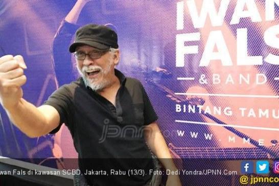 Ucapkan Selamat untuk Jokowi, Iwan Fals: Ayo Gaspol