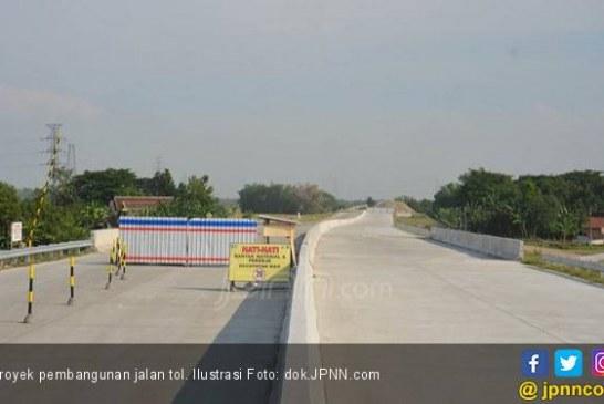 Pembangunan Tol Semarang-Demak, Sebagian Tanggul Laut