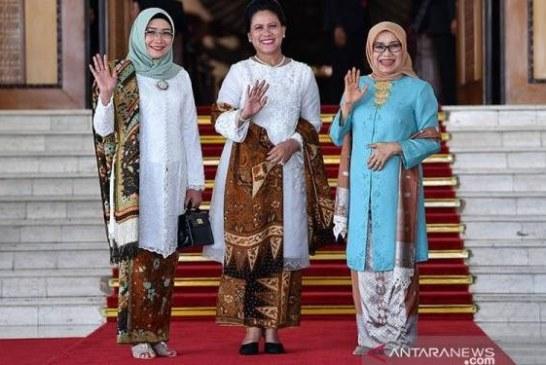 Ini Makna Batik yang Dipakai Bu Iriana saat Jokowi Dilantik