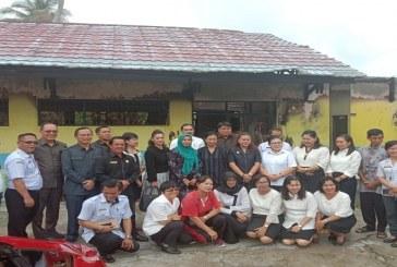 Komisi C Kunjungi SDN 2 Panarung yang Terbakar, Berharap Segera Direhabilitasi