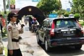 Silakan Dilewati ! Bilik Desinfektan untuk Pengguna Jalan Kota Cantik