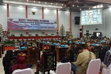 DPRD Kota Gelar Rapat Paripurna Istimewa Dalam Rangka HUT Kota Palangka Raya